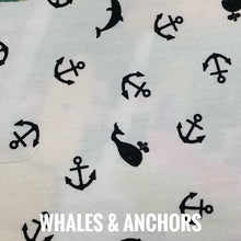 Load image into Gallery viewer, SSOL3DMasks Kit - Whales & Anchors