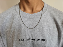 "Load image into Gallery viewer, ""The Minority Co."" Long Sleeve Shirt"