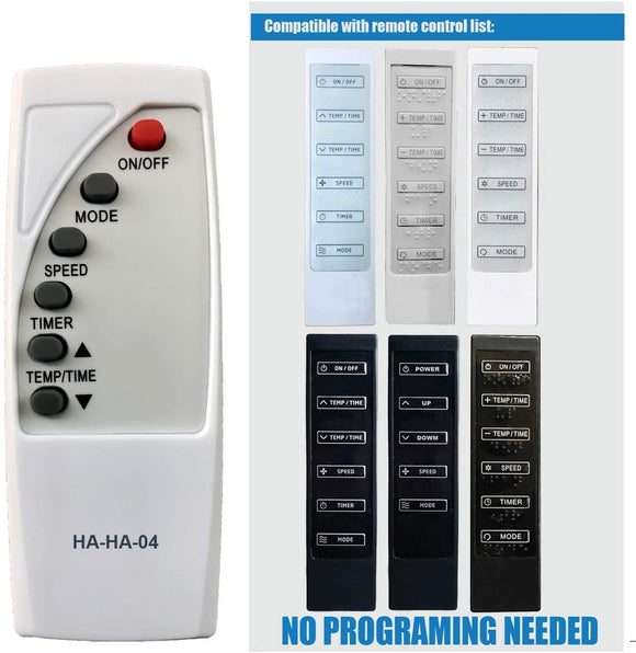 Replacement Remote for Haier - Model: A2