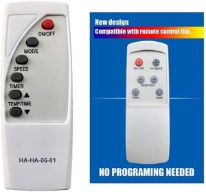 Replacement Remote for Fedder - Model: A6Y