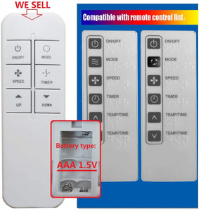 Replacement Remote for Haier - Model: ESA