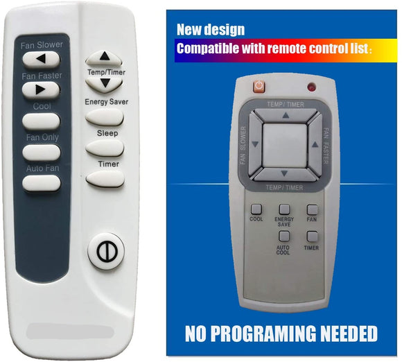 One-for-All Remote for Sharp Air Conditioners. Model AF-S | Remotes Remade | Frigidaire