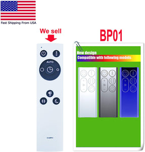Replacement Remote for Dyson - Model: BP01