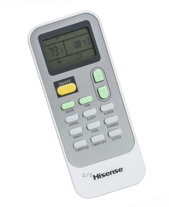 Air Conditioner Remote for Hisense Model: 12