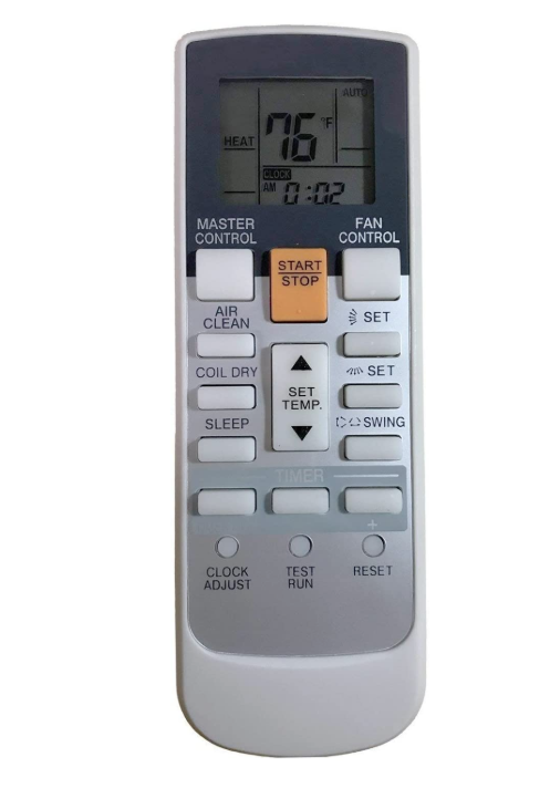 Replacement Fujitsu Air Conditioner Remote Model: AR