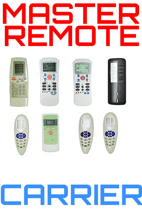 Replacement (Master) Universal Air Conditioner Remote for Carrier | Remotes Remade | Carrier