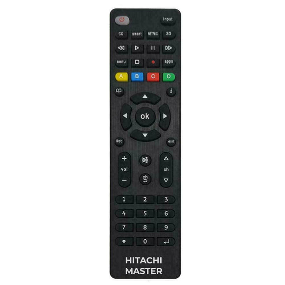 Master Remote for Hitachi TV's | Remotes Remade |