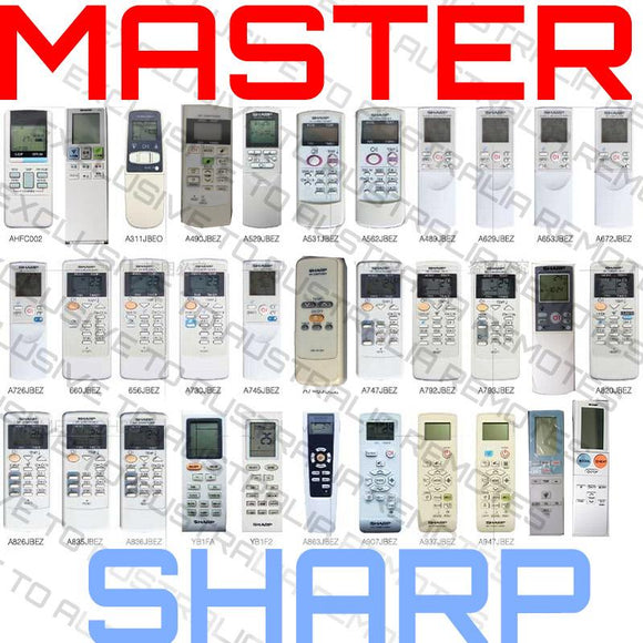 Master Universal Sharp AC Remote