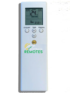 Fujitsu ASTG Air Conditioner Remote