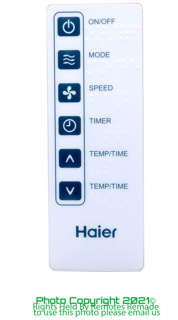 Haier Air Con Remote