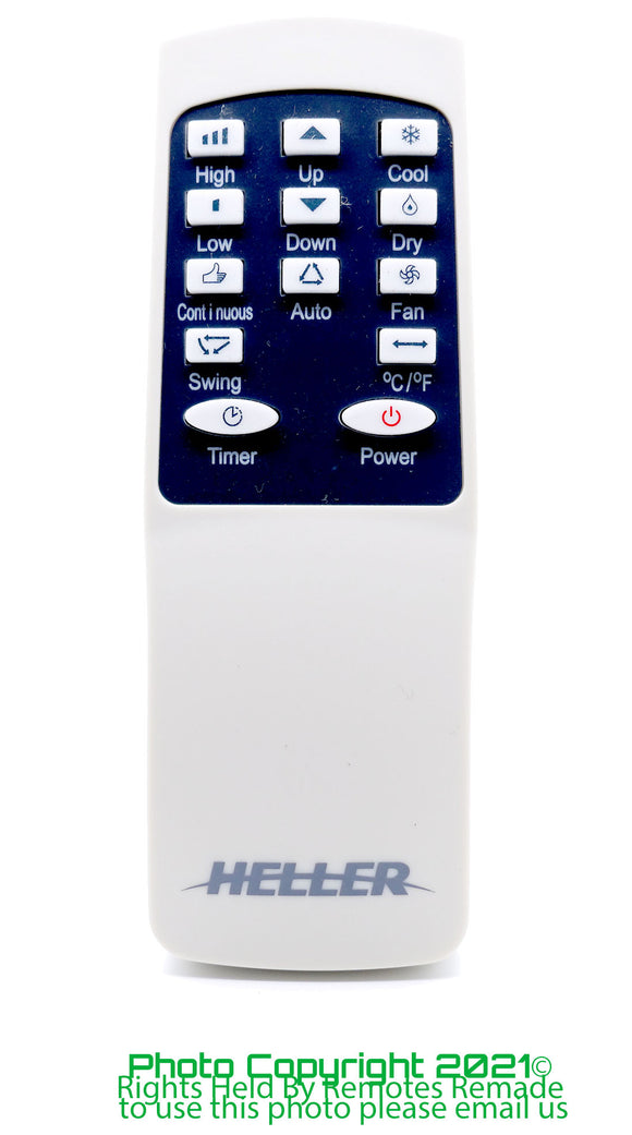 Heller Air Conditioner Remote