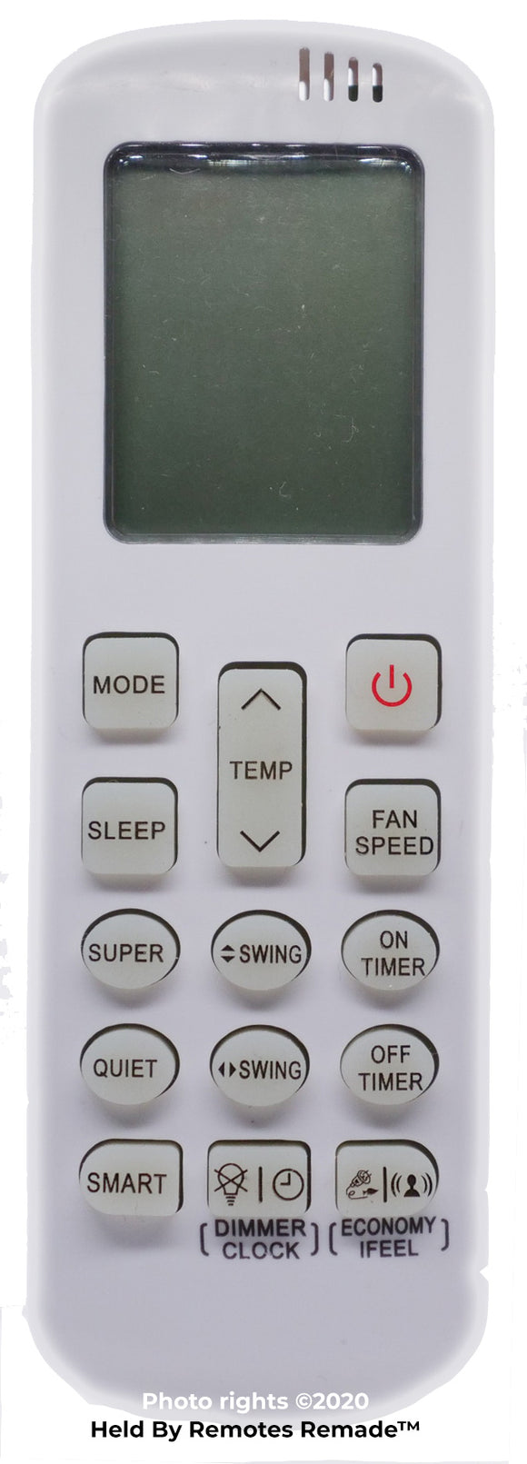 Hisense Air Conditioner Remote l DG11R2-01