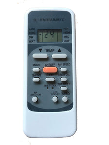Air Conditioner Remote For Heller Model: R5 | Remotes Remade | Heller