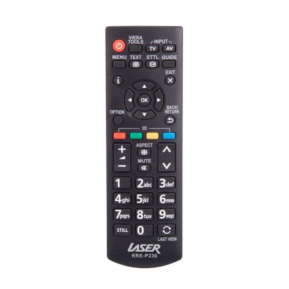 Laser Television Remote Controller for Panasonic | Remotes Remade |