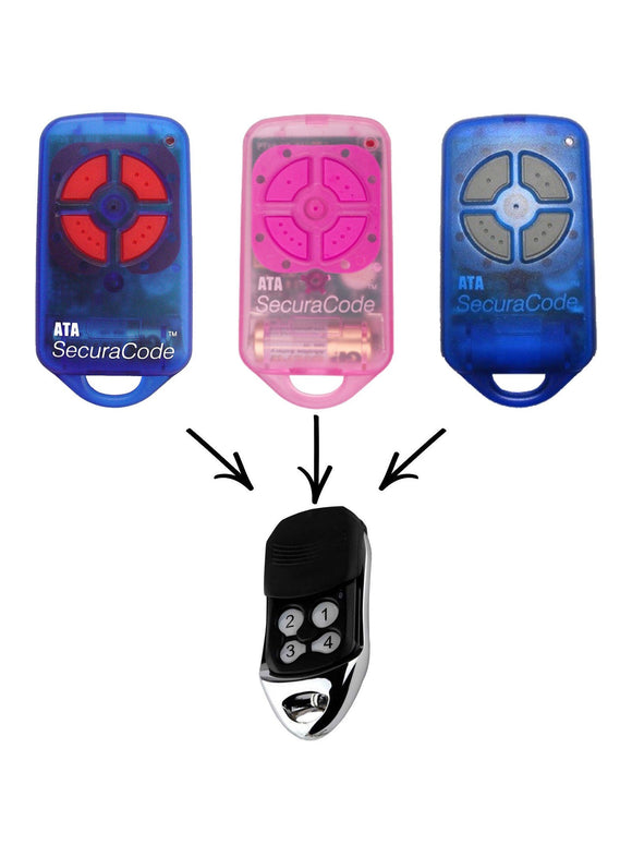 PTX-4 Garage/Gate Replacement Remote | Remotes Remade | ata, CRX, garage door remotes, GDO