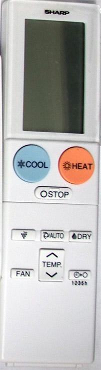 Replacement Sharp Air Conditioner Remote Controller