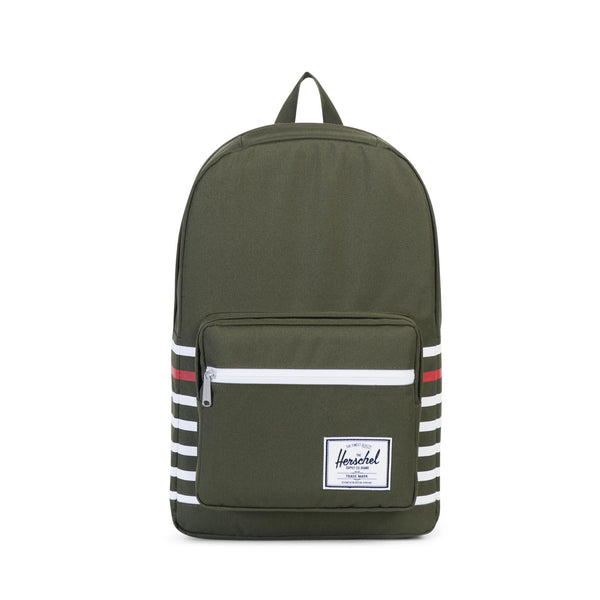 Herschel Supply Offset Forest Green Pop Quiz Backpack