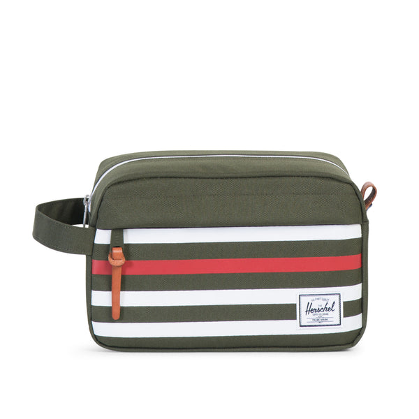 Herschel Supply Chapter Travel Kit Offset Green