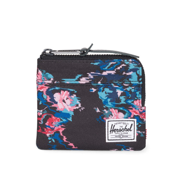 Herschel Supply Johnny Wallet Floral Blur