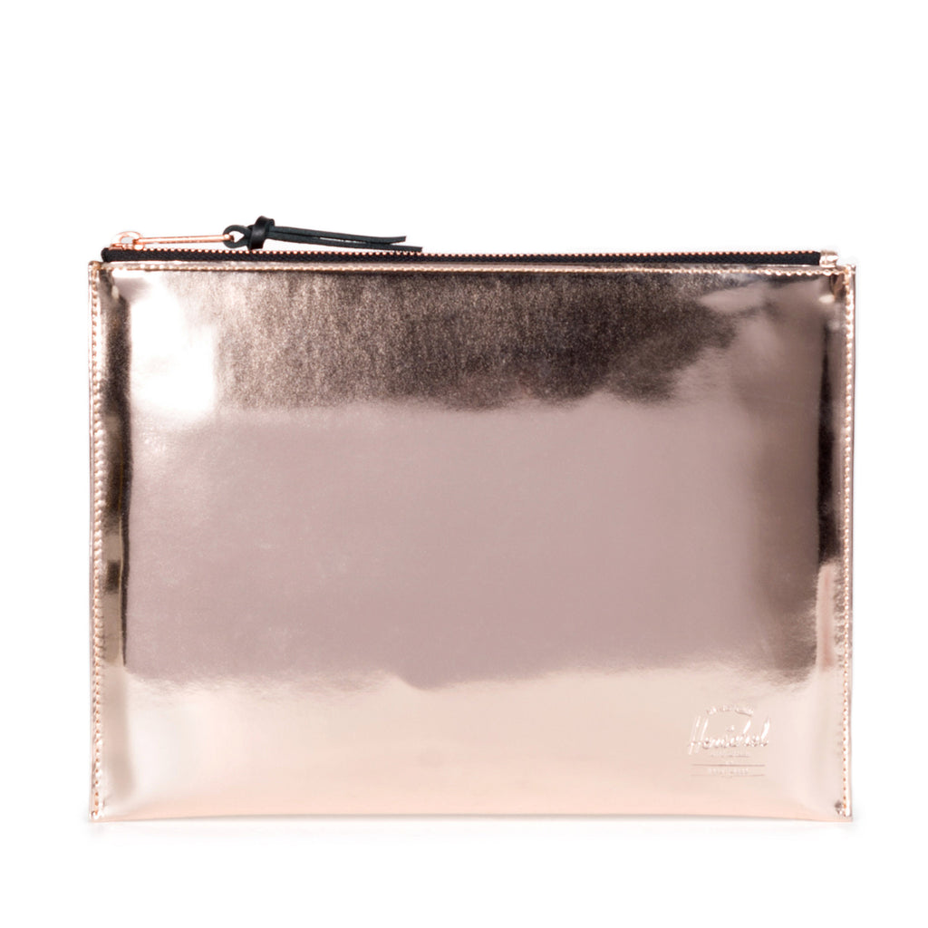 Herschel Supply Network Shiny Copper Pouch Large