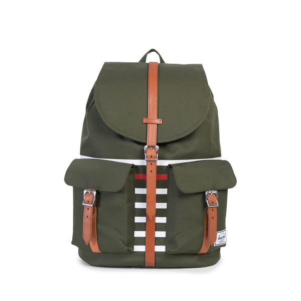 Herschel Supply Dawson Offset Green Backpack