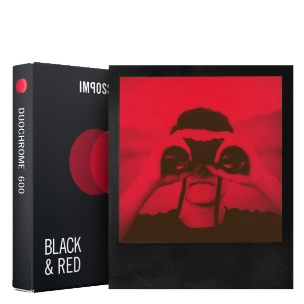 Black and Red Duochrome Film for 600 Cameras