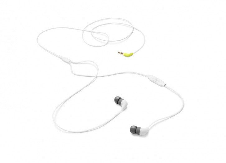 AIAIAI Pipe Earphone White with 1 Button Mic