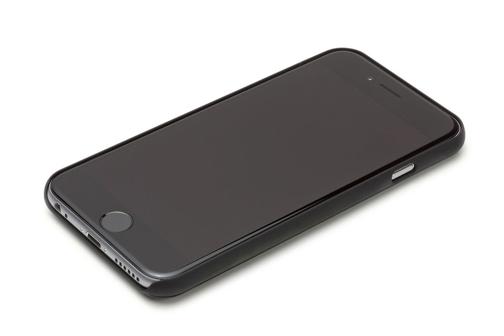 Bellroy Black Leather iPhone Case 1 Card