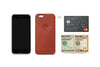 Bellroy Tamarillo Brown Leather iPhone Case 1 Card