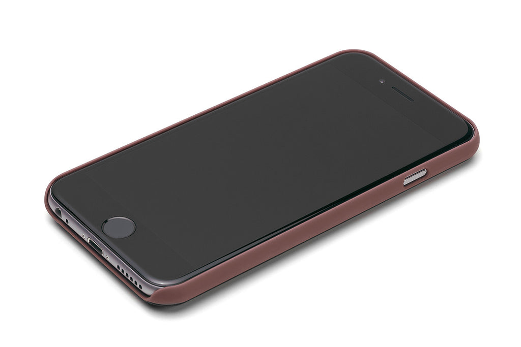 Bellroy Java Brown Leather iPhone Case 3 Card