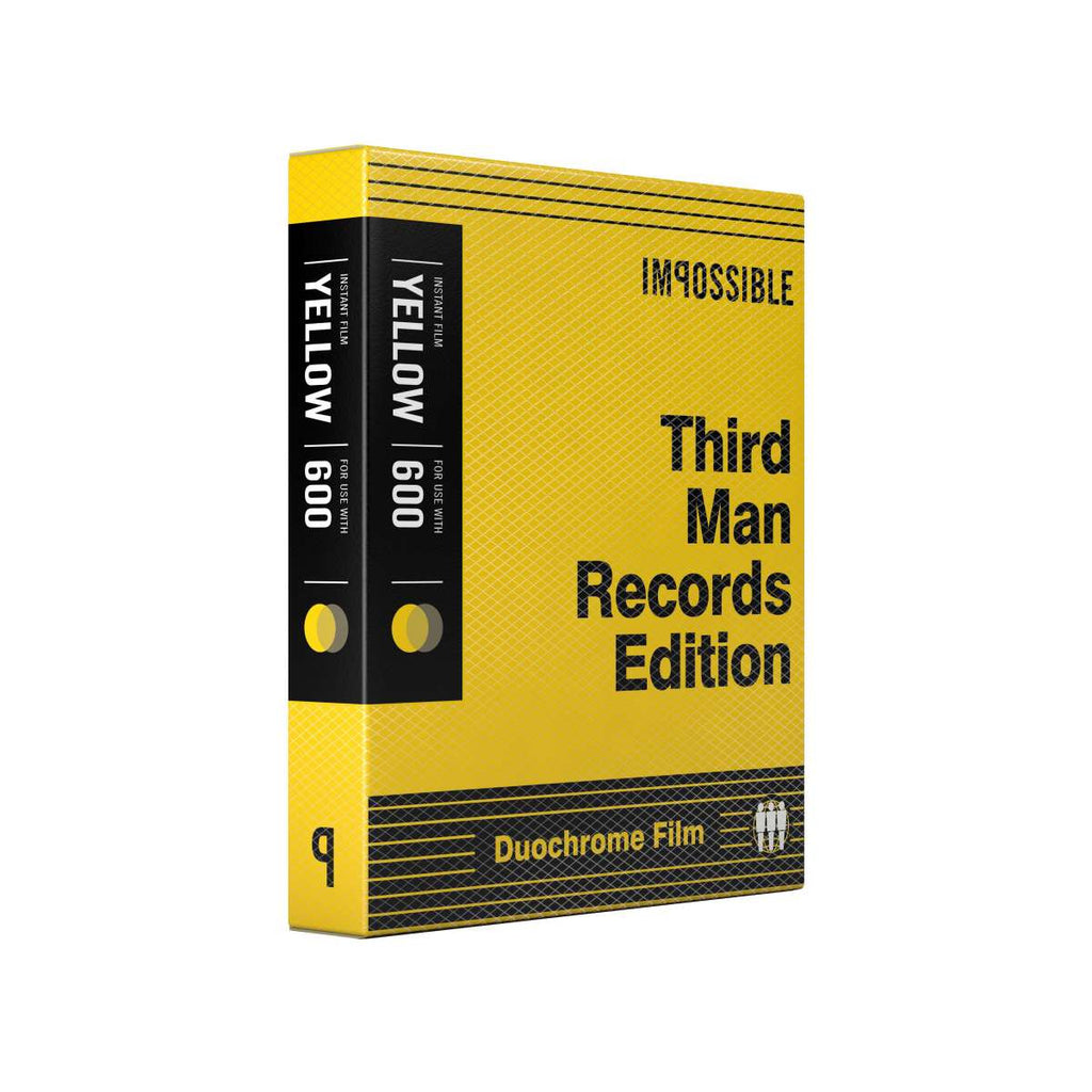Third Man Records Edition Black and Yellow Film for 600 Cameras