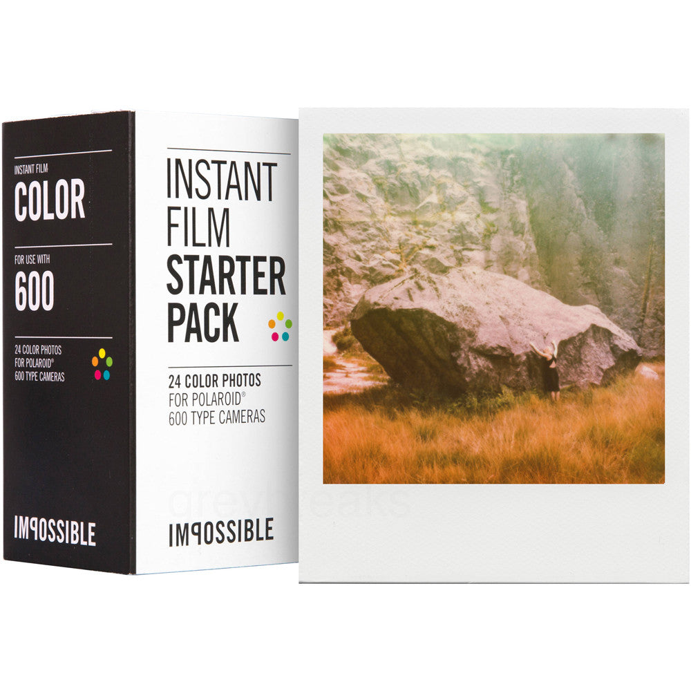 Starter Pack for Polaroid 600 Cameras
