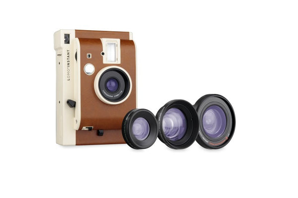 Lomo'Instant Sanremo Edition Camera and 3 Lenses