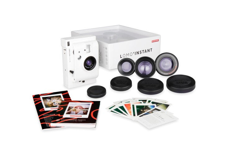 Lomo'Instant White Edition Camera and 3 Lenses
