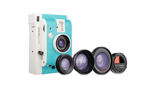 Lomo'Instant Havana Edition Camera Splitzer and 3 Lenses