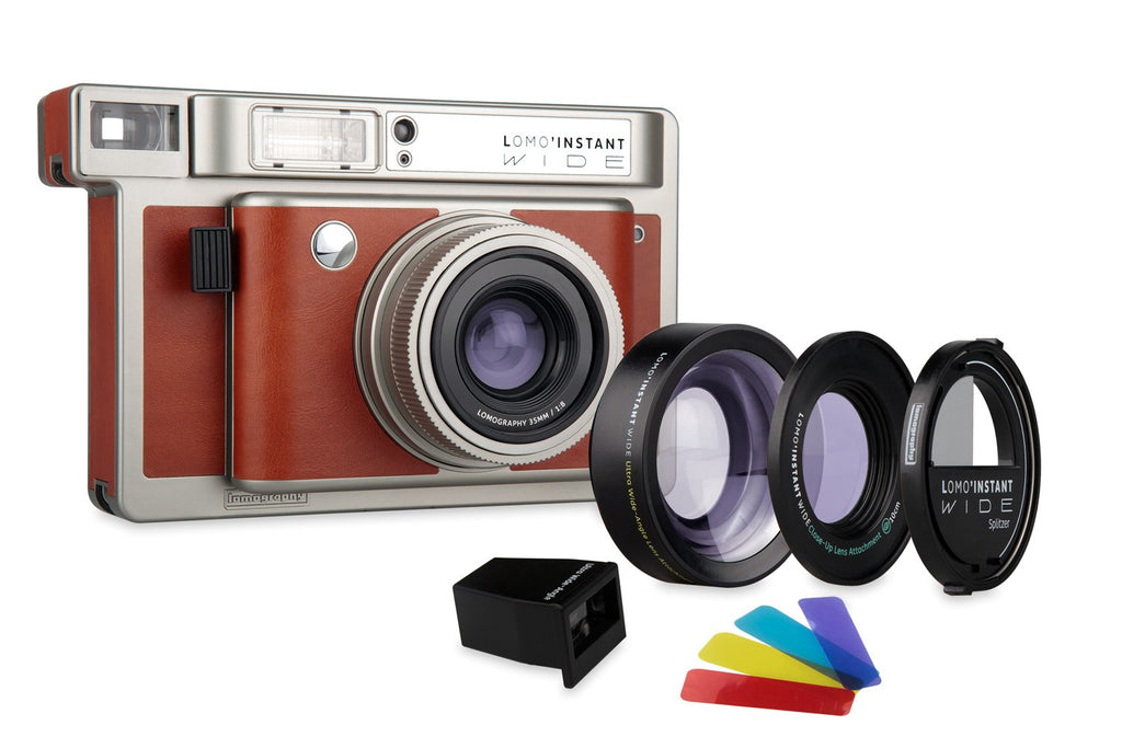 Lomo'Instant Wide Central Park Edition Camera and Lens Kit