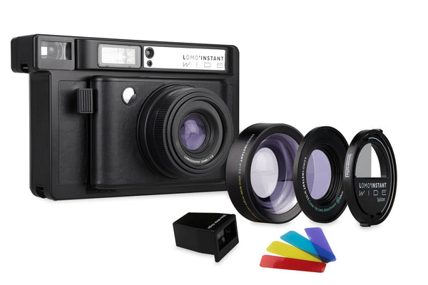 Lomo'Instant Wide Black Edition Camera and Lens Kit