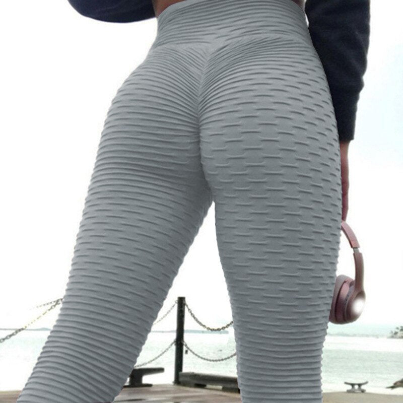 Scrunched Push Up Yoga Leggings