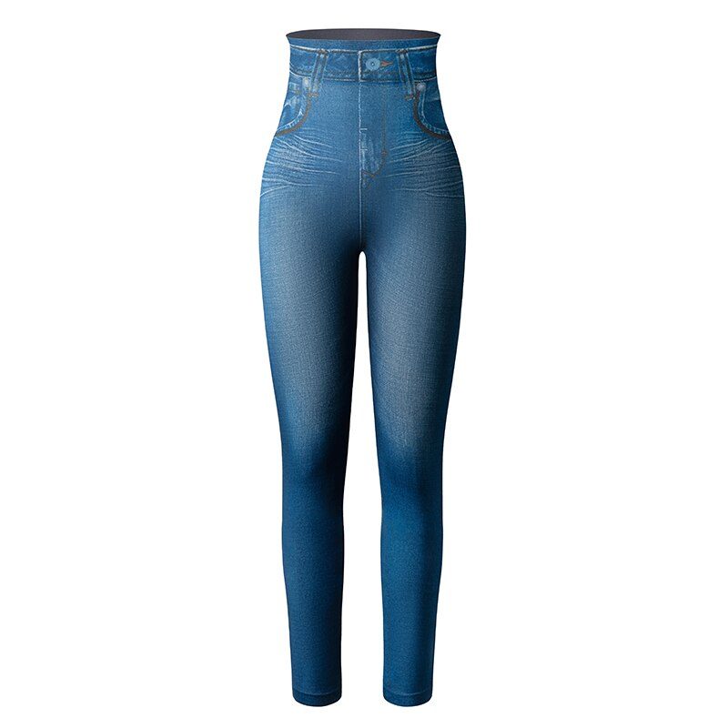 Denim Design Slim Leggings