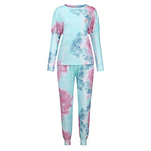Top Tie Dye Lounge Wear Set