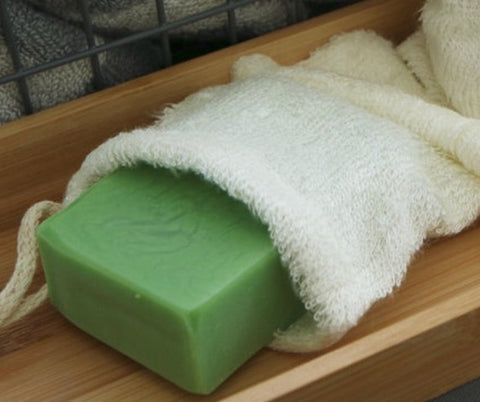 Bamboo Soap Pouch