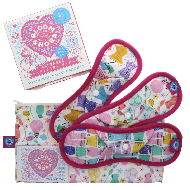 Bloomers Mini Reusable Sanitary Towels