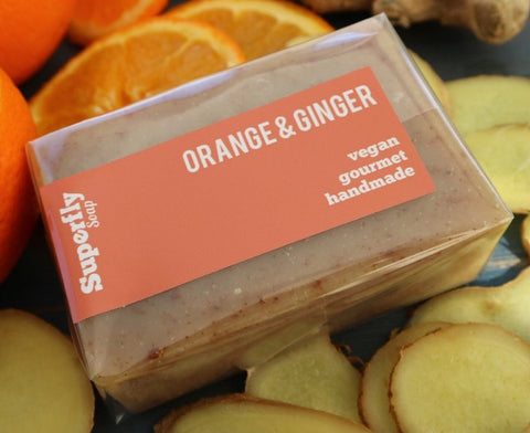 Orange and Ginger Soap
