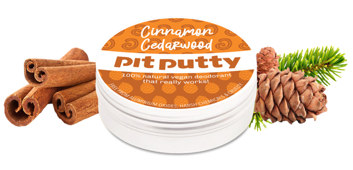 Pit Putty Cinnamon Cedarwood