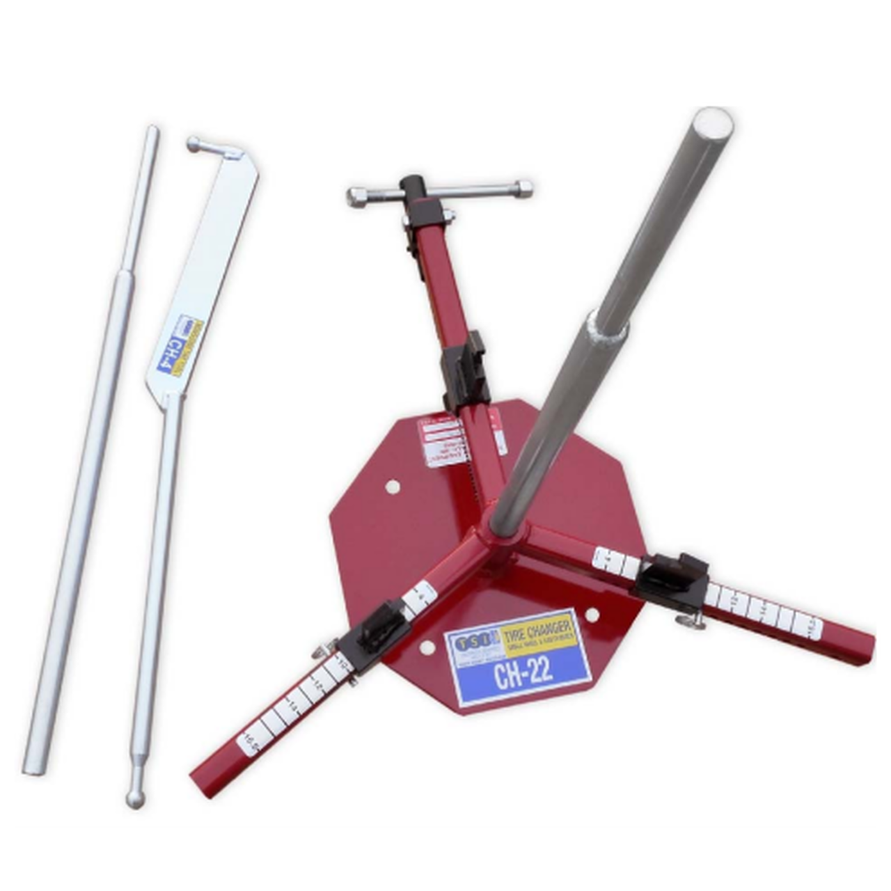 Manual tire changers