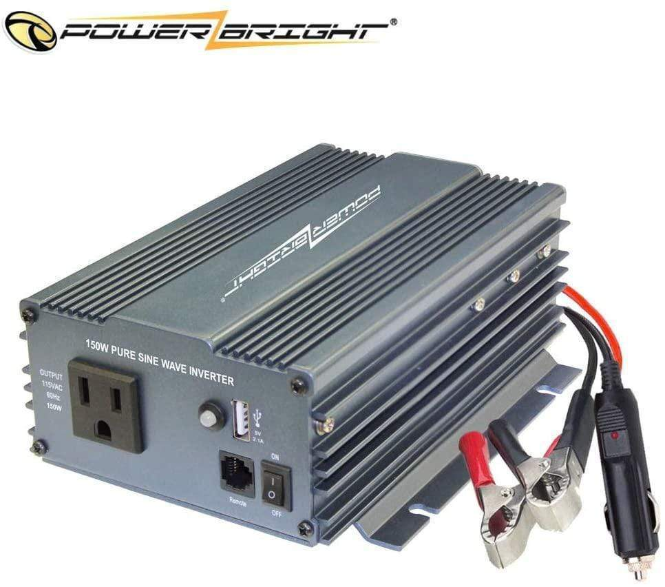 PowerBright Pure Sine Power Inverter 150 Watt main image