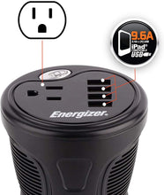 Load image into Gallery viewer, Energizer 150 Watt Cup Inverter image of 9.6A compatible USB