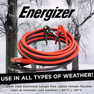 "Energizer 2 Gauge 800A use in all types of weather even 40""C"