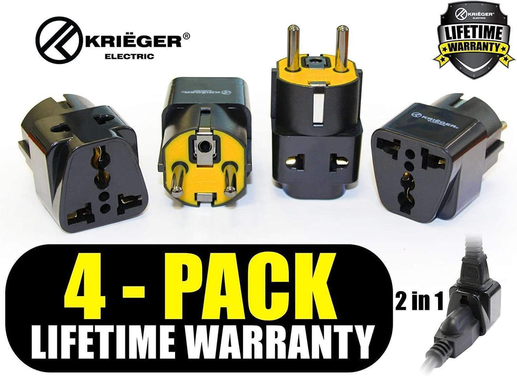 Krieger Plug Adapters 2-in-1 main image