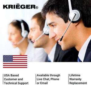 Krieger Plug Adapters 2-in-1 image of customer support